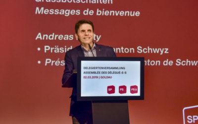 Delegiertenversammlung der SP Schweiz